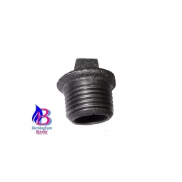 Malleable Gas Fitting - Male Square Plugs