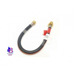 Black LPG Bottle Pigtail Hoses