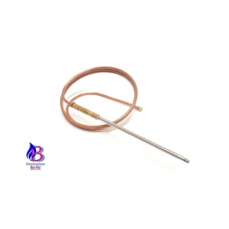 Universal thermocouple with 400mm long tip